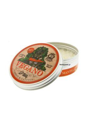 Abbate Y La Mantia Σαπούνι ξυρίσματος Vegano με άρωμα καρότου και μαρουλιού.