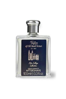 Taylor of Old Bond Street Eton College Collection Aftershave. Εξαιρετικό aftershave που ενδυναμώνει το δέρμα με ένα εξαιρετικό μείγμα από αιθέρια έλαια εσπεριδοειδών και γήινων αρωμάτων. Σε γυάλινο μπουκάλι των 100ml. Περιέχει οινόπνευμα. Κατασκευάζεται σ
