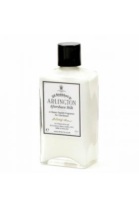 Arlington After Shave Milk Dr Harris Αγγλικής παραγωγής με διακριτικό άρωμα. Περιέχει αντισηπτικό και είναι κατάλληλο για την ανακούφιση της επιδερμίδας μετά το ξύρισμα. Δεν περιέχει οινόπνευμα και είναι κατάλληλο για ξηρό και σκασμένο δέρμα.