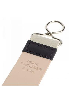 Δερμάτινο ακονιστήρι φαλτσέτας - Leather strop της Muhle. Απαραίτητο εργαλείο για όσους ξυρίζονται με φαλτσέτα ξυρίσματος.