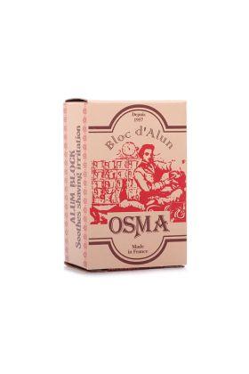 Στύψη. Alum Block της Osma με αντισηπτικές και αιμοστατικές ιδιότητες. Γαλλικό προϊόν.