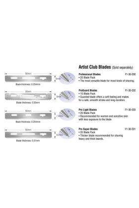 Feather Artist Club SS Scotch Wood Razor