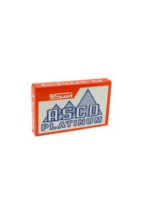 Ανταλλακτικά ξυραφάκια Asco Platinum - Συσκευασία με 5 ξυραφάκια