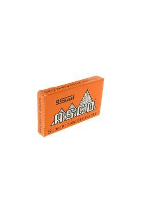 Ανταλλακτικά ξυραφάκια Asco super stainless