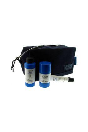 Necessaire Baxter of California με ένα αποσμητικό 34gr με ένα υγρό σαπούνι προσώπου 60ml και ένα lip balm 15ml