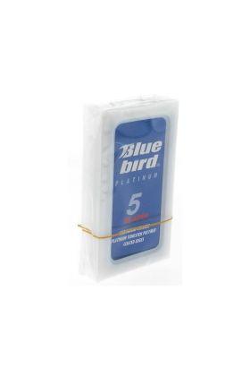 Ανταλλακτικά ξυραφάκια Blue Bird Platinum - Συσκευασία με 5 ξυραφάκια
