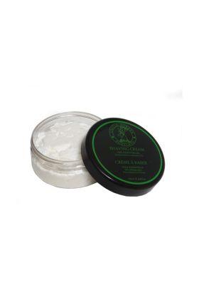 Κρέμα ξυρίσματος σε μπολ των 200ml με ελαφρύ άρωμα lime. Η ποσότητα είναι αρκετή για 5-6 μήνες ξυρίσματος. Με 100% φυσικά αιθέρια έλαια!