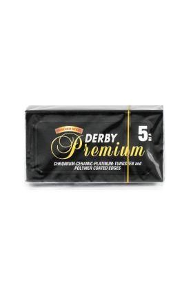 Ξυραφάκια Derby Premium - Συσκευασία με 5 ξυραφάκια