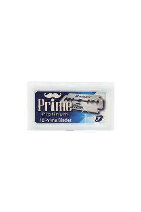 Ξυραφάκια Dorco Prime Platinum Stainless κατάλληλα για όλες τις ξυριστικές μηχανές. Κάθε κουτάκι περιέχει 10 ξυραφάκια.