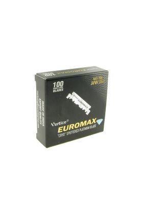 100 ανταλακκτικά ξυραφάκια Euromax Platinum - Ξυραφάκια για Shavette