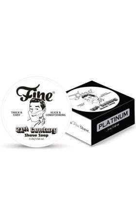 Σαπούνι ξυρίσματος Platinum της Fine Accoutrements -150ml - New Formula