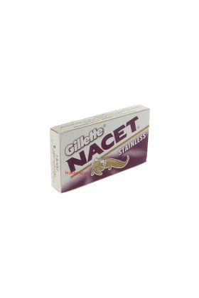 Ανταλλακτικά ξυραφάκια Gillette Nacet - Συσκευασία με 5 ξυραφάκια