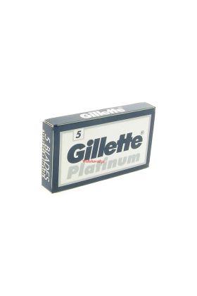 Ανταλλακτικά ξυραφάκια Gillette Platinum - Συσκευασία με 5 ξυραφάκια