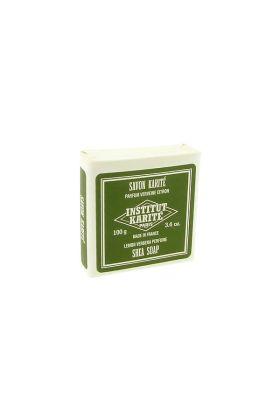 Σαπούνι χεριών & σώματος Institut Karite με βούτυρο καριτέ και άρωμα λεμονόχορτο - 100gr