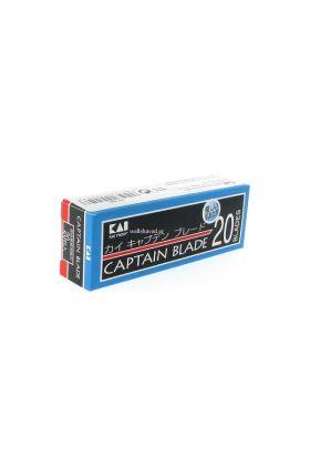 Ανταλλακτικά ξυραφάκια KAI Captain - 20 Ξυραφάκια