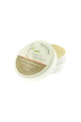 Σαπούνι ξυρίσματος Lainess με άρωμα πορτοκαλιού και 17% γάλα γαϊδούρας - 100gr