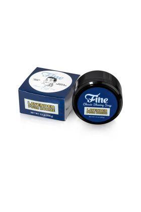 Το σαπούνι ξυρίσματος της Fine είναι triple milled και έχει ως βάση το tallow (Ζωικό λίπος). Συνδυάζει έξυπνα τη μέντα με τη λεβάντα.