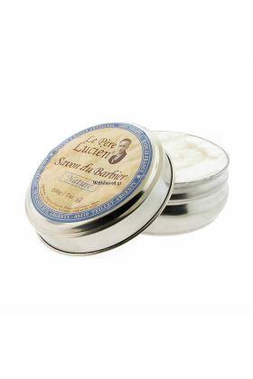 Γαλλικό σαπούνι ξυρίσματος χωρίς άρωμα. Μαλακό σαπούνι εξαιρετικά εύκολο στη δημιουργία αφρού. Προσφέρει εξαιρετική ενυδάτωση και προστασία κατά τη διάρκεια του ξυρίσματος.