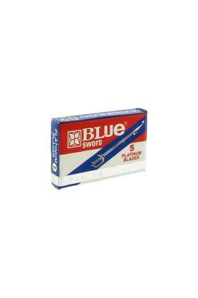 Ανταλλακτικά ξυραφάκια Lord Blue Sword Platinum - Συσκευασία με 5 ξυραφάκια