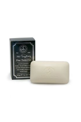 Αν θέλετε ένα άρωμα που να ξεχωρίζει, και ένα σαπούνι που δεν ξηραίνει την επιδερμίδα, τότε αυτό το σαπούνι είναι για εσάς! Το σαπούνι έρχεται σε πλάκα των 200 γραμμαρίων και κατασκευάζεται στην Αγγλία από φυσικά φυτικά έλαια.
