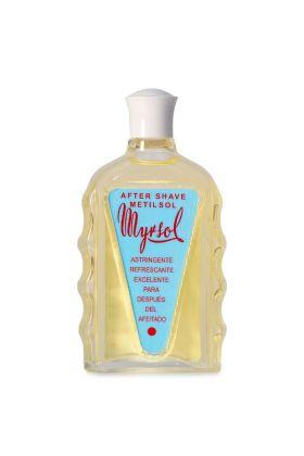Το after shave Metilsol της Myrsol δρα ως ένα φυσικό απολυμαντικό χάρη στις στυπτικές του ιδιότητες. Οι στυπτικές του ιδιότητες οφείλονται στη σύνθεση του η οποία περιλαμβάνει alum potassium, κάλιο και θυμόλη, ένα φυσικό παράγωγου του θυμαριού το οποίο δρ