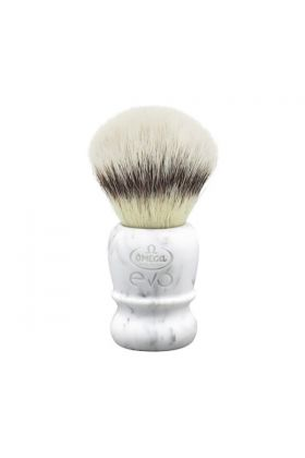 Συνθετικό πινέλο ξυρίσματος Omega Evo Marble Ego