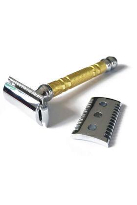 Ξυριστική μηχανή Parker 69CR - (Κλειστό & ανοιχτό χτένι)