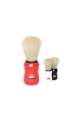 Πινέλο ξυρίσματος Omega 49 με πλαστική λαβή σε ασημί χρώμα και τρίχες χοίρου. Διάμετρος λαβής : 4,00 cm Ύψος λαβής : 6,30 cm Μήκος τρίχας : 6,00 cm