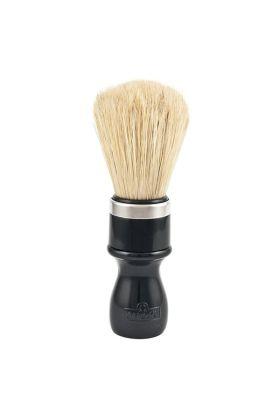 Πινέλο ξυρίσματος Omega 98 με πλαστική λαβή σε μαύρο χρώμα και τρίχες χοίρου. Διάμετρος λαβής : 3,50 cm Ύψος λαβής : 8,00 cm Μήκος τρίχας : 6,40 cm