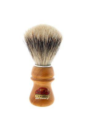 Πινέλο ξυρίσματος ασβού (Super Badger) – Semogue 2015 - Συνολικό ύψος : 110 mm - Ύψος λαβής : 53 mm - Μήκος τρίχας : 55 mm - Διάμετρος Knot : 22 mm – Ξύλινη λαβή.