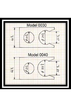 Πλαστική βάση για πινέλα Semogue -0040 Black