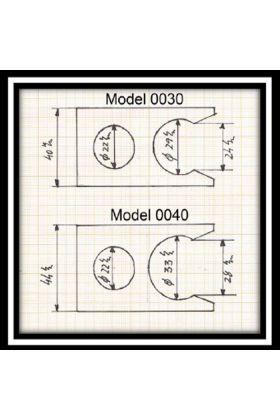 Πλαστική βάση για τα πινέλα Semogue σε μαύρο χρώμα με υποδοχή για ξυριστική μηχανή