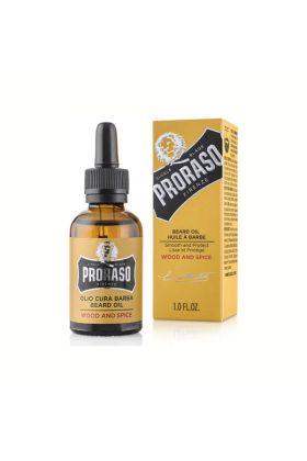 Λάδι περιποίησης γενειάδας της Proraso με άρωμα κέδρου σε μπουκάλι των 30ml. Μαλακώνει και προστατεύει τη γενειάδα.