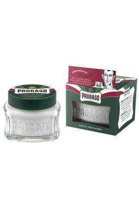 Κρέμα pre shave της Proraso με ευκάλυπτο και μενθόλη.