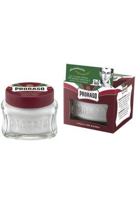 Κρέμα pre shave της Proraso με σανταλόξυλο & βούτυρο καριτέ – 100ml