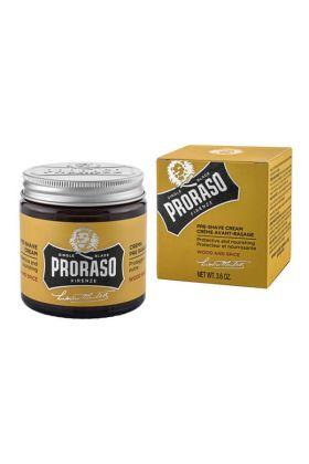 Κρέμα για πριν το ξύρισμα Proraso Wood & Spice -100m