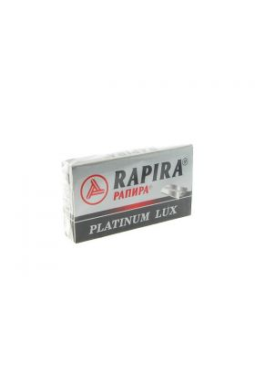 Ανταλλακτικά ξυραφάκια Rapira Platinum Lux - Συσκευασία με 5 ξυραφάκια
