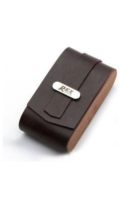 Δερμάτινη θήκη για ξυριστική μηχανή - Rex Supply Co.
