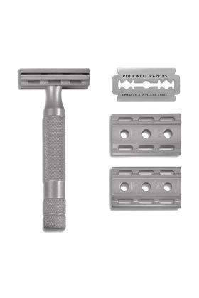 Ρυθμιζόμενη ξυριστική μηχανή από ανοξείδωτο ατσάλι Rockwell 6s