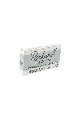 Ανταλλακτικά ξυραφάκια Rockwell, κατασκευασμένα από Σουηδικό ατσάλι.