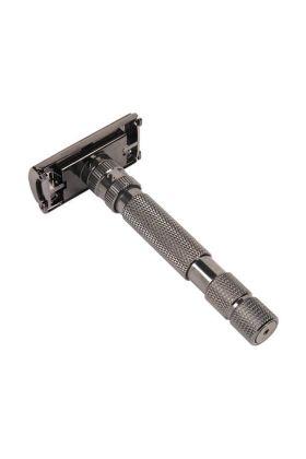 Ρυθμιζόμενη ξυριστική μηχανή πεταλούδα Rockwell Model T Gunmetal