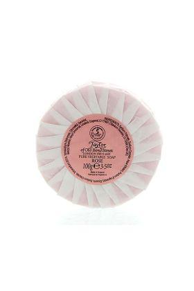 Φυτικό σαπούνι χεριών με άρωμα τριαντάφυλλο. Δημιουργεί πλούσιο αφρό και δεν ξηραίνει την επιδερμίδα. Taylor of Old Bond Street.