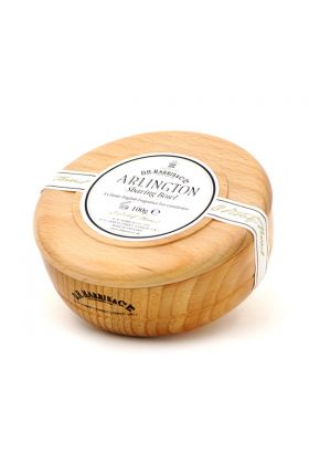 Σαπούνι ξυρίσματος Arlington της Dr Harris. Αγγλικής παραγωγής. Δημιουργεί έναν εξαιρετικό αφρό ξυρίσματος με ένα διακριτικό άρωμα εσπεριδοειδών. Προστατεύει και ενυδατώνει την επιδερμίδα κάνοντας το ξύρισμα απόλαυση. Μπολ από οξιά.