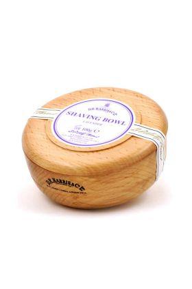Σαπούνι ξυρίσματος της Dr Harris με άρωμα λεβάντας. Δημιουργεί ένα εξαιρετικό αφρό ξυρίσματος που προστατεύει και ενυδατώνει την επιδερμίδα. Ξύλινο μπολ από οξιά.