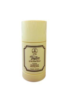 Σαπούνι ξυρίσματος Taylor of Old Bond Street με άρωμα σανδαλόξυλο σε stick. Συσκευασία των 75 ml.