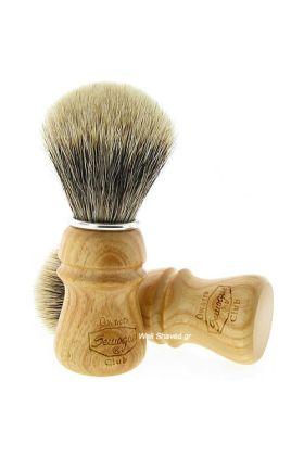 Πινέλο ξυρίσματος 2 Band Finest Badger Hair ( Ασβός) – SOC 2 Band Ash Wood - Συνολικό ύψος : 11,20 cm - Ύψος λαβής : 5,70 cm - Μήκος τρίχας : 5,10 cm - Διάμετρος Knot : 2,40 cm – Ξύλινη λαβή