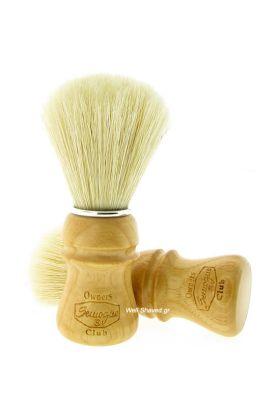 Πινέλο ξυρίσματος χοίρου – Semogue SOC Bristle – Ash Wood - Συνολικό ύψος : 11,60 cm - Ύψος λαβής : 5,70 cm - Μήκος τρίχας : 5,50 cm - Διάμετρος Knot : 2,40 cm – Ξύλινη λαβή