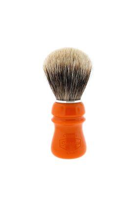 Πινέλο ξυρίσματος με τρίχες ασβού Finest Semogue Owners Club -Butterscotch - Ρητίνη