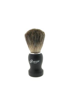Πινέλο ξυρίσματος  με τρίχες ασβού Pure Grey Semogue Pha C3TPG B