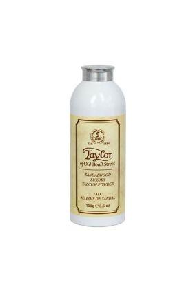 Το Talcum powder της Taylor έχει ως αποστολή ν' απορροφά την υγρασία και να διατηρεί το δέρμα στεγνό. Μειώνει τον κίνδυνο ερεθισμών και εξανθημάτων από τον ιδρώτα. Άρωμα σανταλόξυλο.